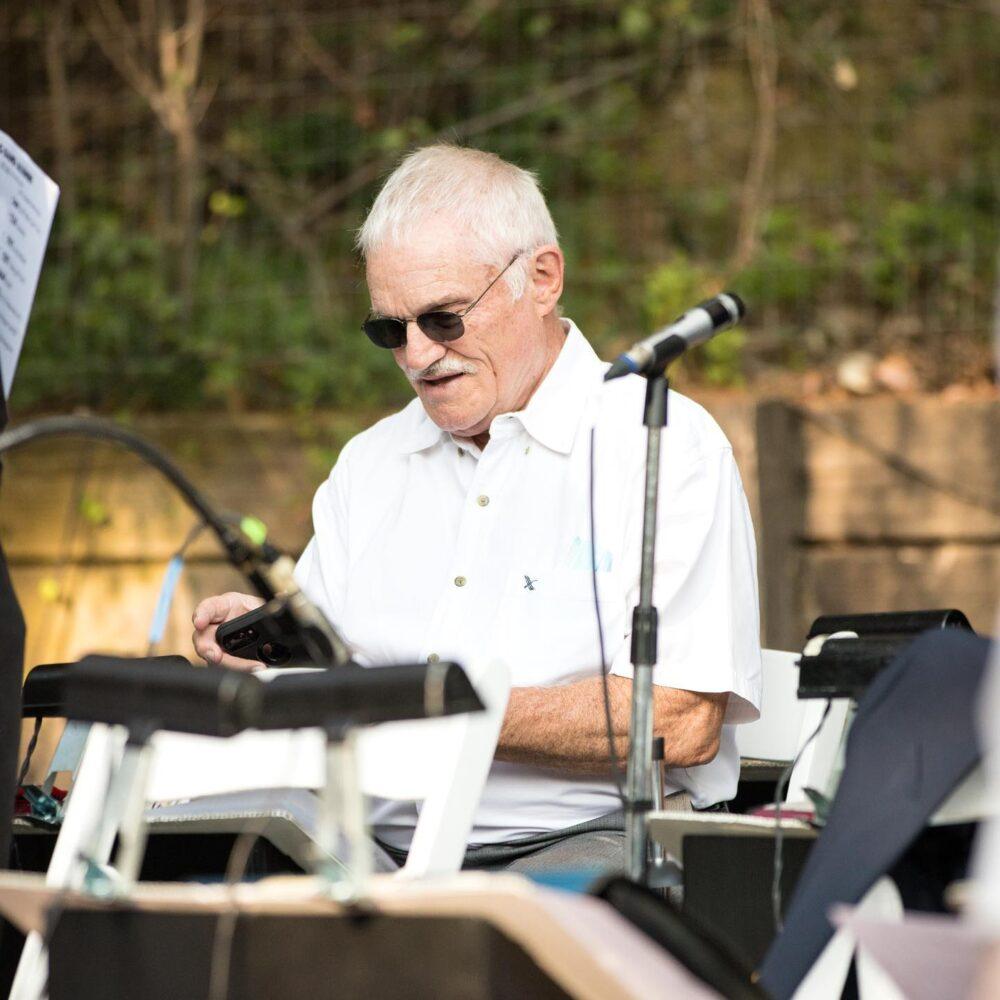 Harry Smallenburg of The Big Band Alumni.